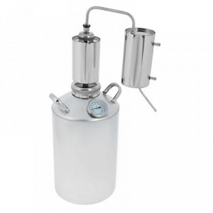 Дистиллятор «Вертикальный» 12 л, горло 80 мм, термометр