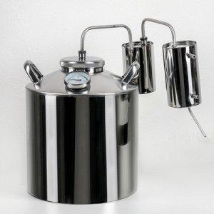 Дистиллятор «Разборный», 16 л, горло 100 мм, термометр, клапан