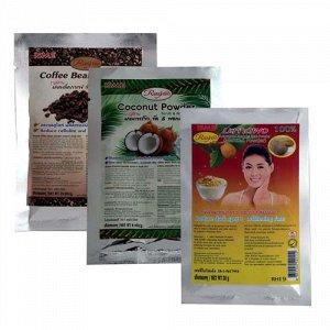 Маски — скрабы для лица на основе фруктов и растений Isme RasYan Powder