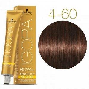 Игора Абсолют 4-60 Средний коричневый шоколадный натуральный 60 мл