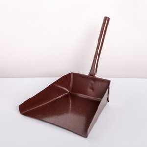 УЦЕНКА Совок хоз. металлический с короткой мет. ручкой, 170x190x250 мм