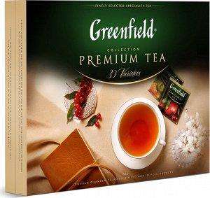 Чай Гринфилд Набор коллекция превосходного чая и чай.нап. 30 видов пак. 211,2 г 1/8, шт