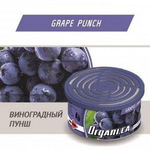 """Ароматизатор воздуха органический """"AIM-ONE"""" Виноградный Пунш (ORGANI.CA) ORG-GRP"""