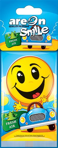 """Ароматизатор воздуха подвесной на бумажной основе """"AREON SMILE RING"""" ASD18 Fresh Air"""