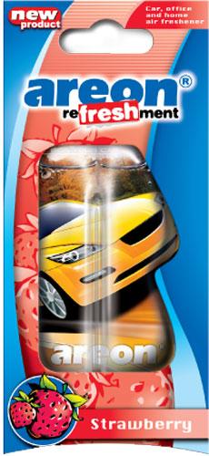 "Ароматизатор воздуха подвесной жидкостный ""AREON refreshment"" LC15 Strawberry"