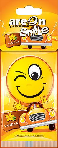 """Ароматизатор воздуха подвесной на бумажной основе """"AREON SMILE RING"""" ASD11 Vanilla"""