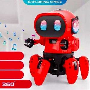 Робот - танцующий, красный