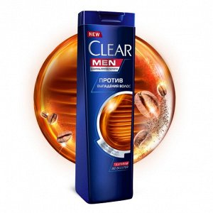 Шампунь CLEAR CARAT 400мл п/выпадения волос Мужской