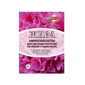 Цветы ЖИВА аминокислоты 5гр Ортон 1/100