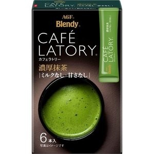 Бленди Зеленый чай латте  ( 6 стиков)  72  гр. 1/24  /Япония/
