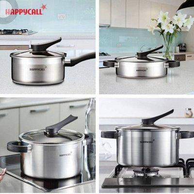 ✅ Happycall / Корейская посуда ❗  — ✅Серия Stainless Steel. Для всех видов плит❗️❗️❗️  — Кастрюли