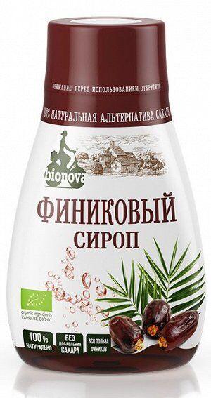 """Органический финиковый сироп """"Бионова"""", 230 г"""
