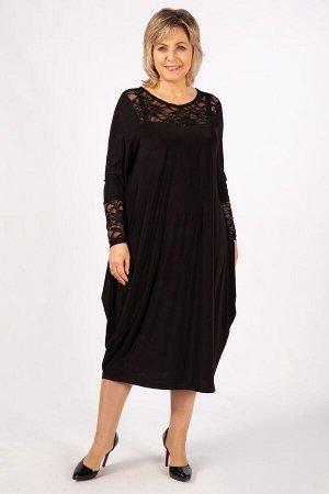 Платье Ксения черный
