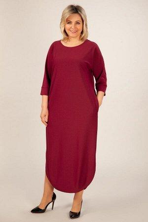 Платье Мона бордовый