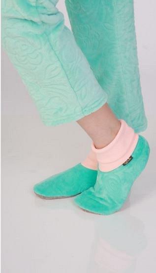 №22 ✦ТМ Рехина✦- изысканный стиль домашнего трикотажа + КПБ  — Обувь для дома — Угги