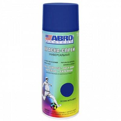 Товары для автомобилистов — Эмаль для двигателей и краска - спрей ABRO — Химия и косметика