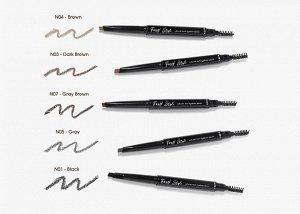 Автокарандаш для создания натуральных бровей Foxy Style Natural auto eyebrow pencil