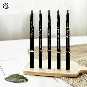 Автокарандаш для создания натуральных бровей. Foxy Style auto eyebrow pencil