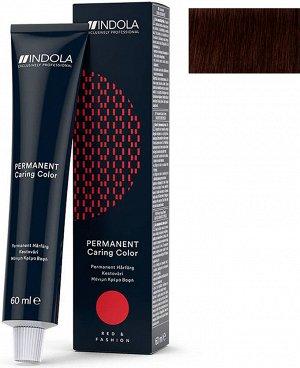 ИНДОЛА 'RED&FASHION' 4.68 Средний коричневый красный шоколадный 60 мл