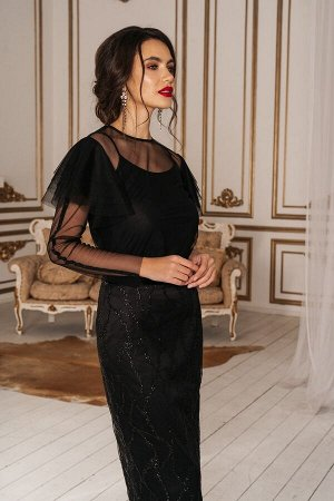 Нарядный женский комплект юбка и блузка
