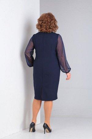 Женский комплект жилет и платье