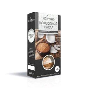 Сахар кокосовый без глютена и гмо 100 гр.