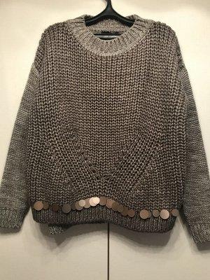Теплый объемный свитер итальянской марки, отдаю дешевле СП