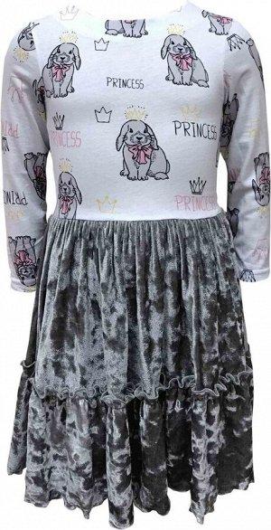 """Платье """"Кролики-принцессы"""""""