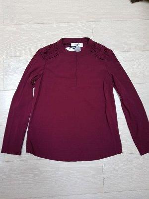 Блуза B lugirl на 42. Цвет - бордовый. ДЕШЕВЛЕ СП