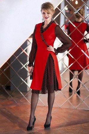Платье, юбка Euromoda Артикул: 246 красный