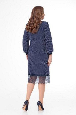 Платье, жилет DaLi 3395 синий