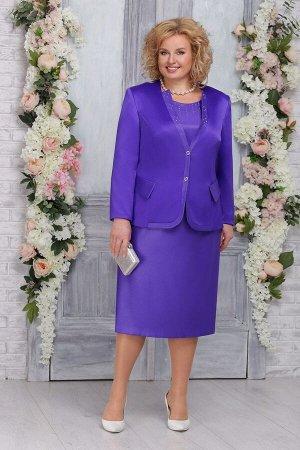 Жакет, платье Ninele Артикул: 2219 фиолетовый