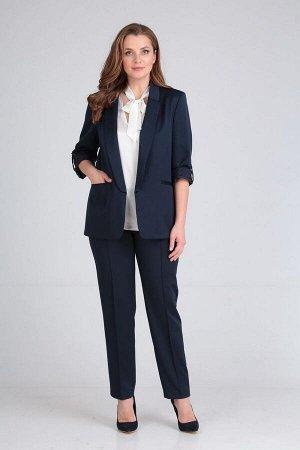 Блуза, брюки, жакет Lady Line Артикул: 455 синий