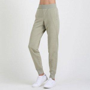 Женские брюки с карманом в шве