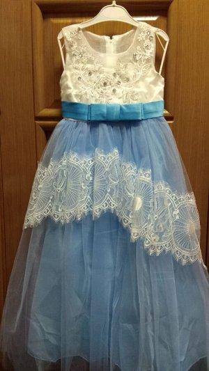Платье нарядное 122. Реальное фото