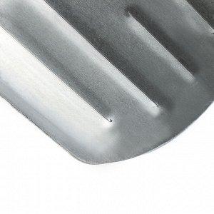 Лопата автомобильная алюминиевая, ковш 205 ? 208 мм, пластиковый черенок, №21