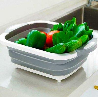 #Осенние новинки💥Набор сковородок AMERCOOK от 399 руб -5!  — ХИТ - Складной многофункциональный тазик! — Кухня