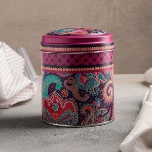 Банка для сыпучих продуктов Рязанская фабрика жестяной упаковки «Турецкие огурцы», 10?12,5 см, 0,8 л