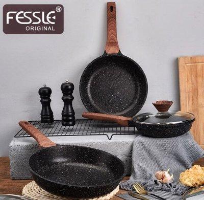 Удобная кухня💥 Сковородки от 199 рублей!  AMERCOOK💥  №2 — Спец предложение ! Серия посуды Fessle! — Посуда