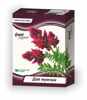 """Подарочный набор """"Для мужчин"""" из алтайских трав"""