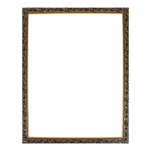 Рама для картин (зеркал) 60 х 80 х 4 см. дерево. «Версаль». цвет золотой