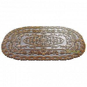 Коврик придверный резиновый 45х75 см кп42