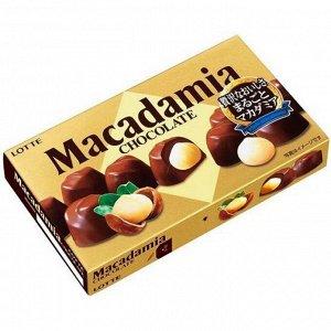Макадамия LOTTE орех макадамия в шоколаде, 67 гр