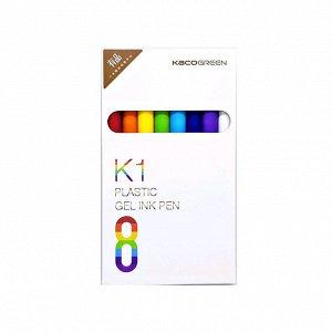 Набор гелевых ручек Xiaomi K1 Plastic Gel Ink Pen (8 шт.) (K1040)