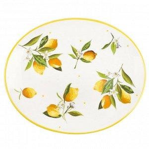 """""""Лимоны"""" Блюдо сервировочное 30,5x25x2см в п.у. 2520855"""