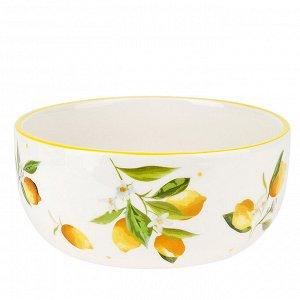 """""""Лимоны"""" Салатник 600мл в п.у. 2520862"""