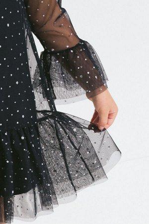 Платье(Осень-Зима)+girls (черный)