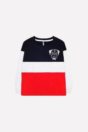 Джемпер(Осень-Зима)+boys (черный, серый меланж, красный к216)