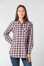 Блузка()+mom (коричневая клетка)