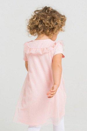 Платье(Весна-Лето)+girls (персиковый румянец)